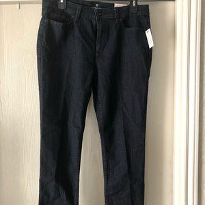 Liz Claiborne Straight Leg Jeans  size 10